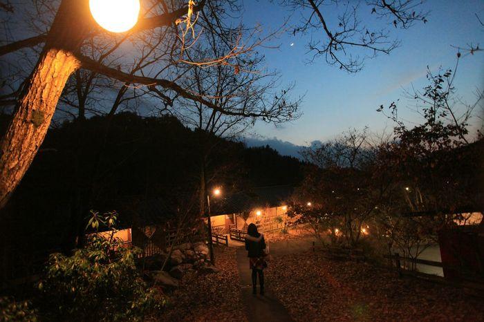 さて帰るかな♪😄 Relaxing Taking Photos Nightphotography Spa Japanese Style 黄昏 Enjoying Life Japanese  MoonHello World