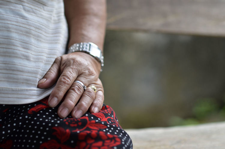 Grandmother Hand Hard Hard Working Lady Lola Mother Old Ring Rings Watch Woman Work