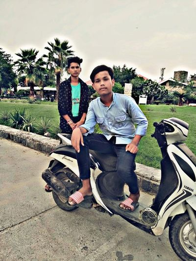 #looking_follow_me KTM Duke200 Full Length Togetherness Portrait Bonding Smiling Headwear Happiness Sitting Men Young Men Biker First Eyeem Photo