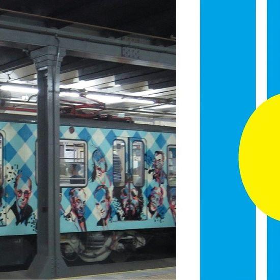 Subte LineaA , Caba Baires buenosaires argentina streetart wagon train underground celebrities