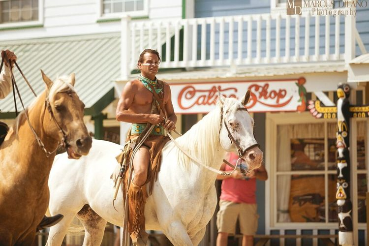 Cherokee at Frontier Town Assateague Oceancitycool Frontier Town People Photography People Horse Riding Assateague  Portrait OceanCity American Indian