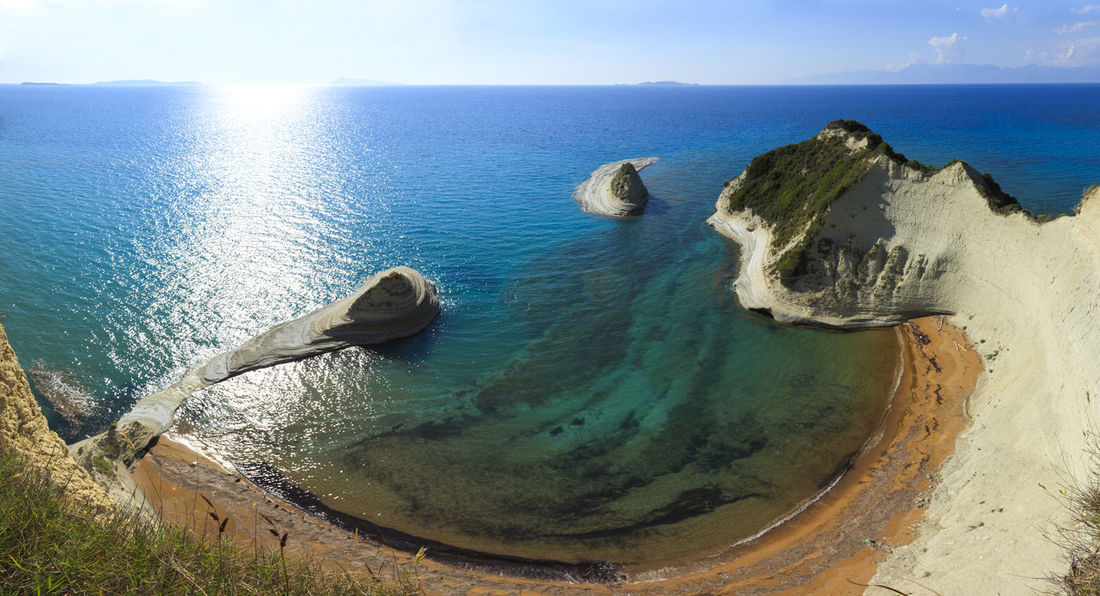 Cape Drastis, Ionian Island, Cape Drastis Corfu Greece Ionianislands Mediterranean