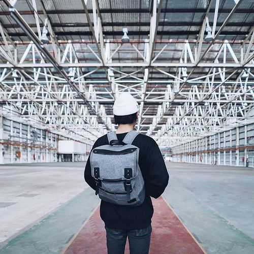 'never stop exploring' // randomly found this abandoned warehouse in bankstown last weekend with @pseushi and @jeffwidjaja and couldn't resist not going in and exploring! shoutout to @status_anxiety for this sick backpack! Ilovesydney Streetdreamsmag StatusAnxiety