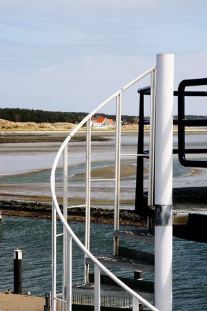 Railing No People Island View  Terschelling Netherlands Close Up Photography EyeEm Best Shots - Nature Eyemphotography Hello World Viewpoint Nature Photography Landscape Outdoors Weather Photography EyeEm Best Shots Stair Focus On Foreground Focus Object Structures & Lines Detailphotography