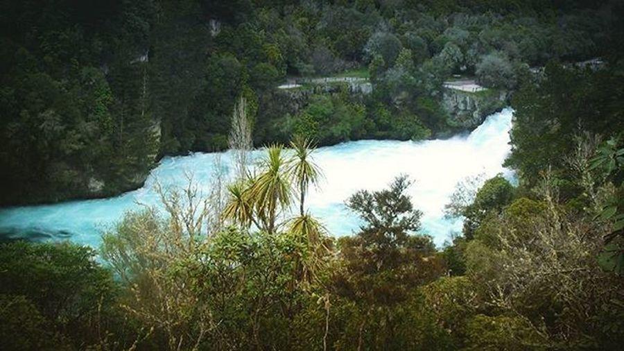 Hukafalls Taupo Aotearoa NZ Newzealand Scenic Water Waterfall Holiday Nature_waterfalls