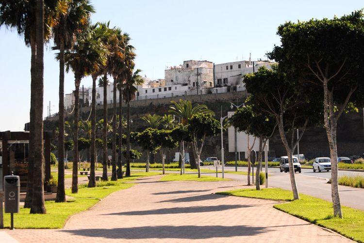 View of the Old City of Rabat Morocco EyeEmNewHere Neighborhood Map
