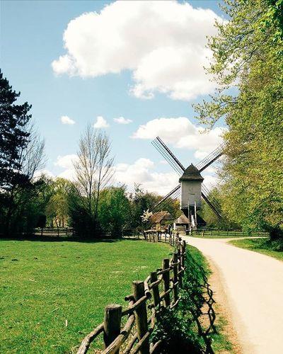 Molen Vscostyle Genk Limburg Bokrijk Unescoworldheritage Countryside Belgium Onepluslife