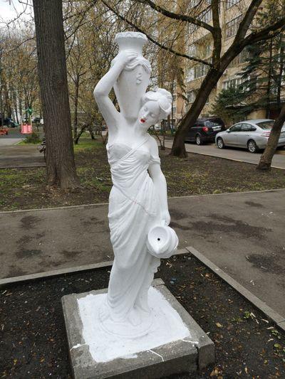 Statue in park