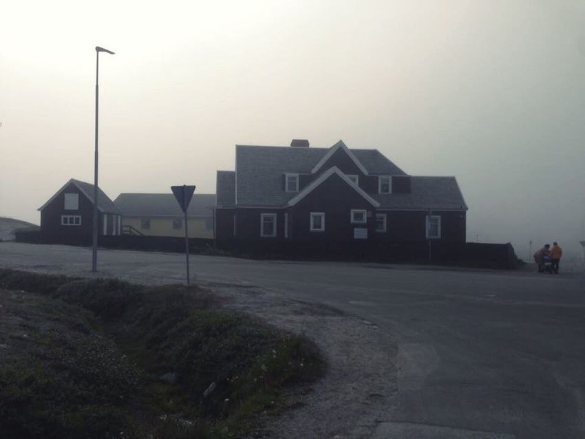 Foggy Weirdart Wierd&beautiful Foggy Day Foggy Weather Foggy Afternoon Wonderfuld Greenland Nuuk