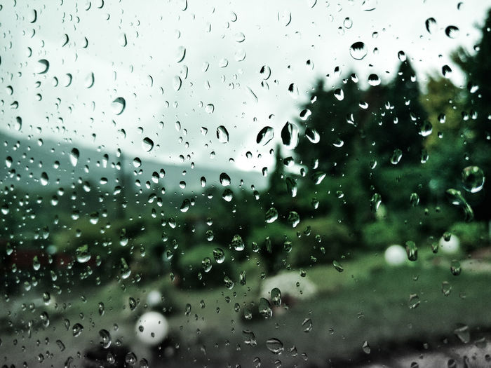 Backgrounds Day Drop Freshness Glass - Material RainDrop Transparent Weather Window