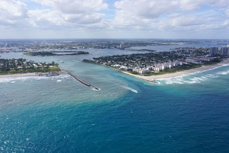 Palm Beach Inlet, Florida Aerial Photography