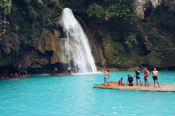 Chasing Waterfalls Summer Loving Kawasan Falls Whenincebu Itsmorefuninthephilippines Rafting Turquoise Water Cool Waters Travel Philippines