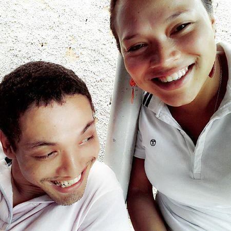 Nada mais gostoso do que ver a felicidade estampada no sorriso de um irmão. REENCONTRO especial! Te amo mto irmão! @Elder
