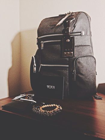 Bags packed back to Ga I go ✈️ Tumi Backpack Mens Fashion Designer