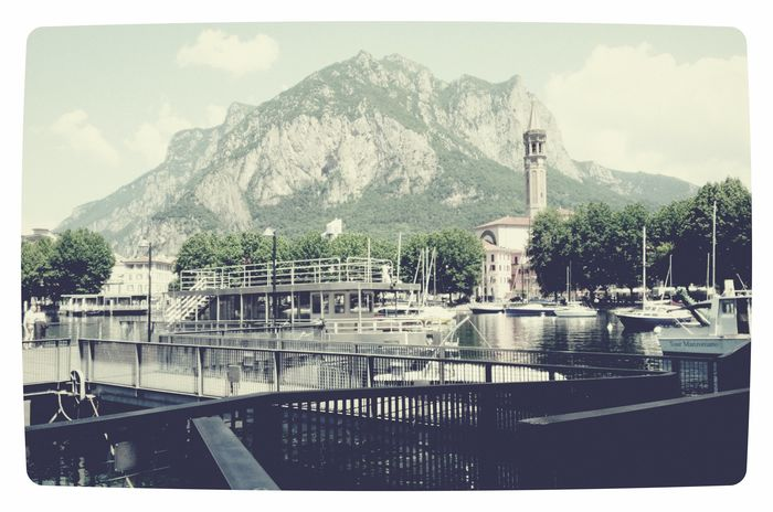 lecco Italy Tree Architecture Building Exterior