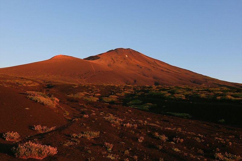 朝日に燃える富士 Mountains Landscape Nature Mt.Fuji Japan 紅富士 EyeEm Nature Lover World Heritage