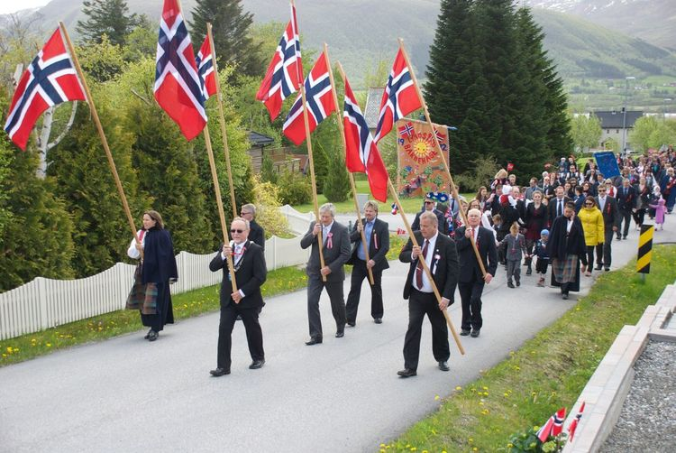 17 Mai Eide På Nordmøre Norway Hello World
