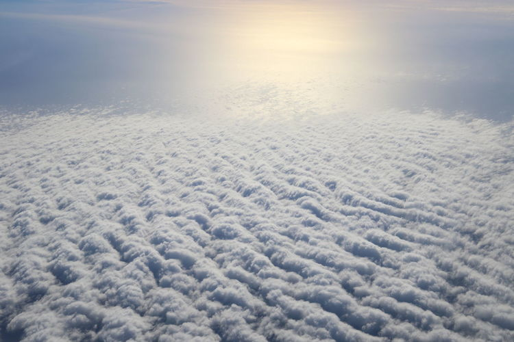 Cloud Cover Day Inflight Mid-air No People Outdoors Sky Sunlight Tranquility
