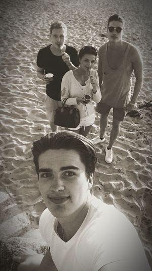 I miss the summer.. Summertime Friends Selfie ✌ Sunset Beach Autumntoday