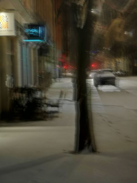 Night Winter Snow Motionblur Creatitive Soul Creative Photography Rain Wet Weather Blurred Motion Street Night No People City Outdoors Illuminated