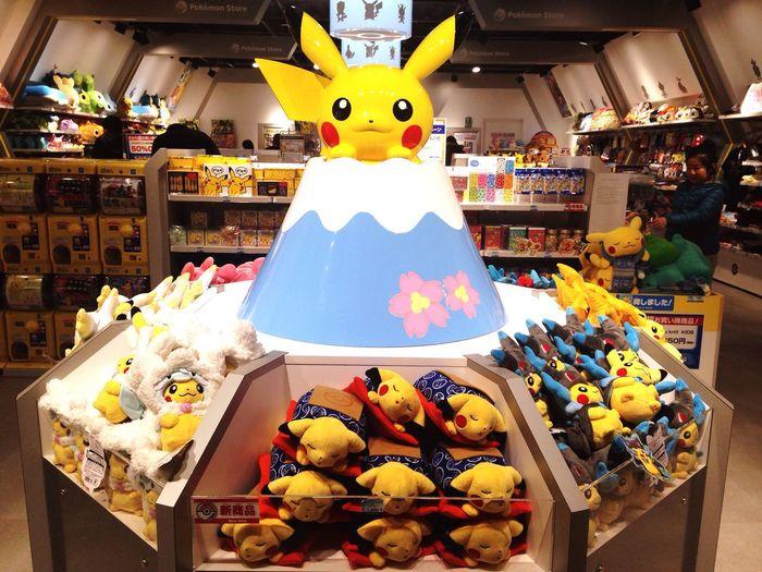 Pikachu Nippon Nippon Photography Tokyo Japan Hanging Out Toys Lovely Love Love ♥ Hi! Enjoying Life Hello World Taking Photos Lovely Japan Fujisan