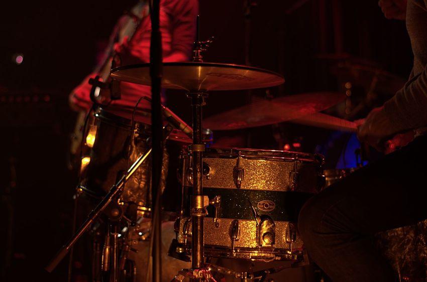 Nightclubbing Drum Kit Montreal Rocks Musical Instrument Musician Music Performance Stage Concert Rock Show Drummer Drumming
