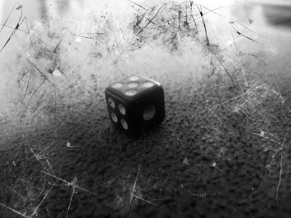 Dark Art B&W Collection Relaxing M&m Photography just dice