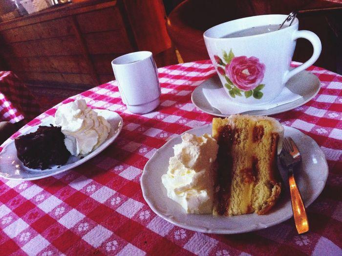 Some Days Autumn Teatime Cake