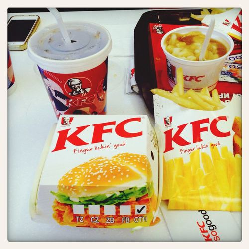 Lunch Time! Fast Food KFCFood