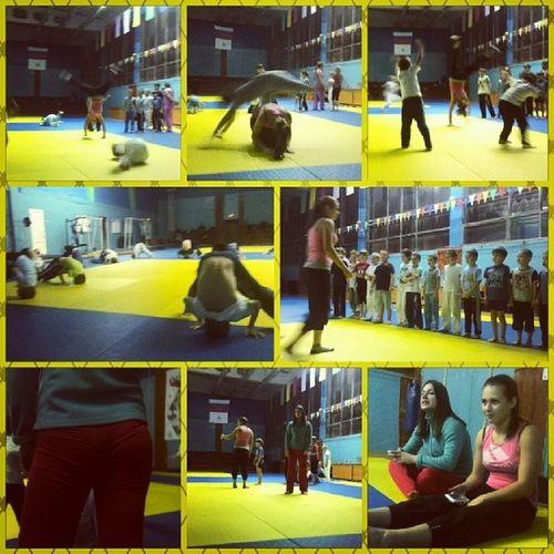 @bananappl And @mellyaboom тренируют мелких в Динамо