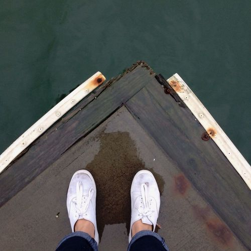 Washington Dock Water Ocean Shoes White White Shoes Getting In Touch Bridge Relaxing Eye4photography  OpenEdit Watching The Sunset Sunset Nature Boats Jeans Instagood