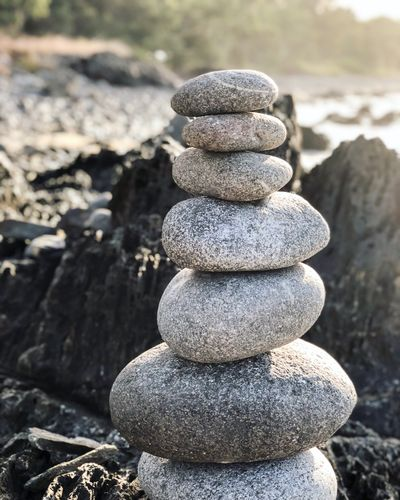 Balancing Rocks Beachphotography Balancing Balancing Rocks Stack Balance Stone Focus On Foreground Nature Zen-like Pebble Close-up Day Rock No People Solid Land Sunlight Stone - Object Rock - Object Outdoors Beach Beauty In Nature Tranquility