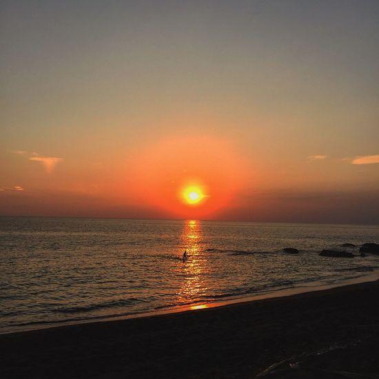 Sunset of Shonan miura