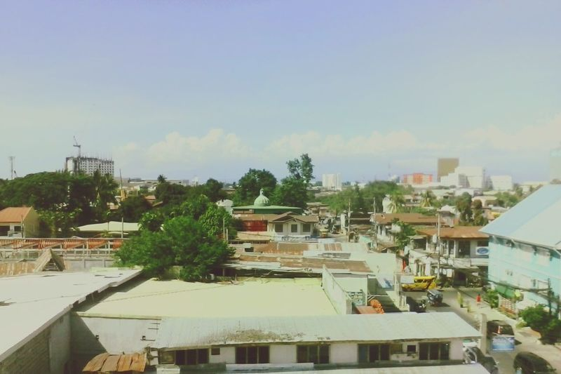Earlier Sunny Day From The Rooftop Sky Buildings Freedom Beautiful Trees Eyeem Philippines