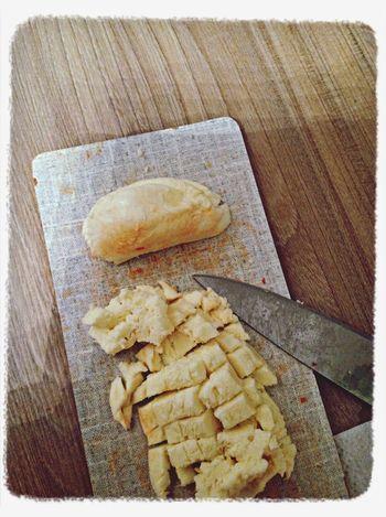 Mozzarella mit Peperoni...