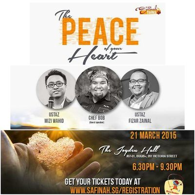 If you are looking for inner peace. This will be a great start for u. Another awesome talk by @safinahinstitute.. Letsgo Gojer Mustgo Veryveryvery
