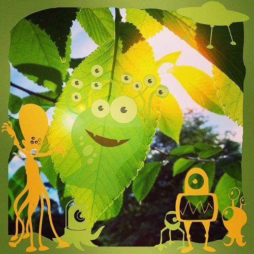 Picsart Leafmonsters Art Auckland newzealand