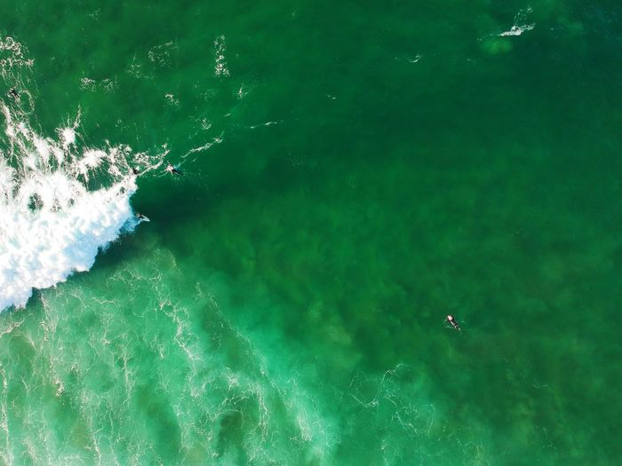 surfers aerial view in a surf spot. Drone photo Sandy Beach Wallpaper Adventure Portugal Beach Life Dronephotography Seascape Surf Foam Travel Waves Oceanside Aereal View Ocean Atlantic Ocean Salt Water Coastline Landscape Water High Angle View Nature Beauty In Nature Lake Day No People Tranquility Green Color Aerial View Outdoors Beach