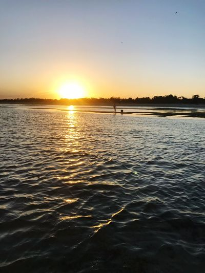 Sunset Sunset Beauty In Nature Water Nature Scenics Tranquility Tranquil Scene Sun Sea Reflection