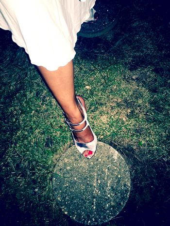 Red Toe Nails Stepping Out Stepping Stones Iphone6
