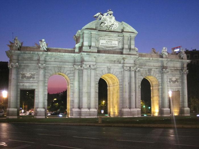 Alcalá door