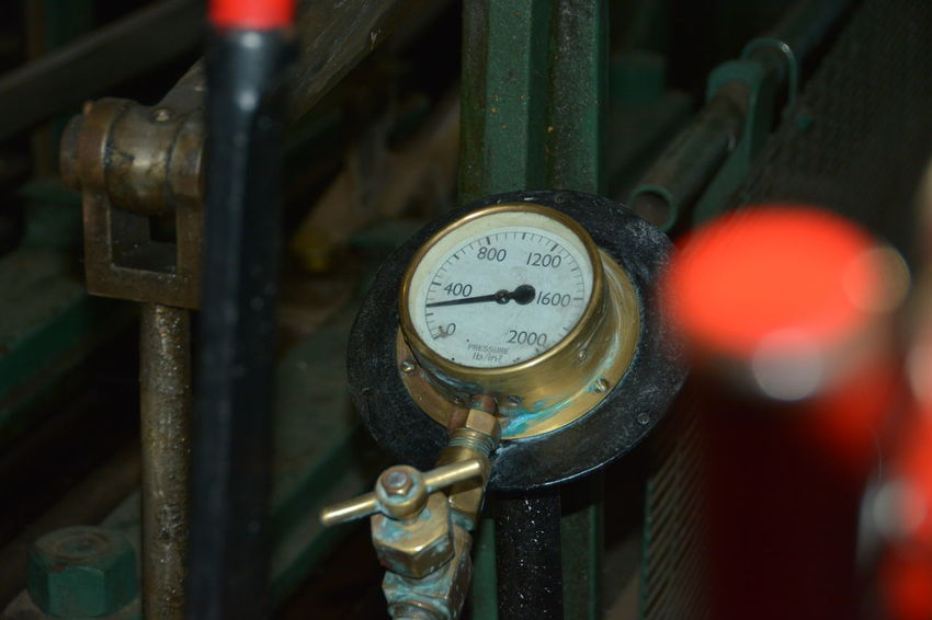 Close-up Day Engineering Gauge Indoors  Industry Machinery Meter - Instrument Of Measurement No People Pressure Gauge Steam Guage EyeEmNewHere