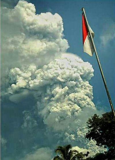 Merapi MERAH PUTIH INDONESIA Volcano Nature Yogyakarta INDONESIA