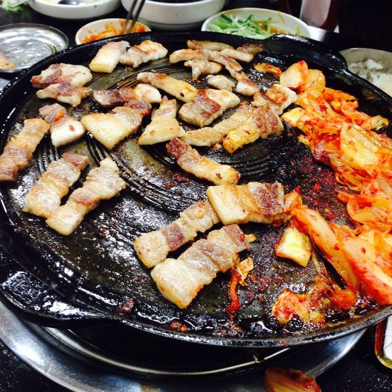 Delicious barbecue Food South Korea Yam Yam