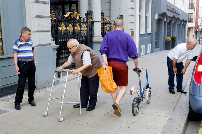 Casual Clothing Outdoors Day Streetphotography Street Photography London Disabled Bike TakeoverContrast Postcode Postcards