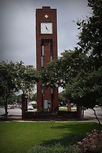 Architecture Built Structure Vertical Clock Day Greatergreenvillesc Suburbia Clocktower Clock Tower YeahTHATsimpsonville Simpsonvillesc Smalltowncharm Mainstreetusa Mypointofview Southcarolinapictures Nikon D3200 Nikonphotography Photowalk Whattimeisit Southcarolina No People