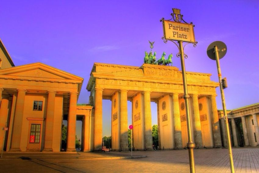 Brandenburg Gate, Berlin, Germany, 2010