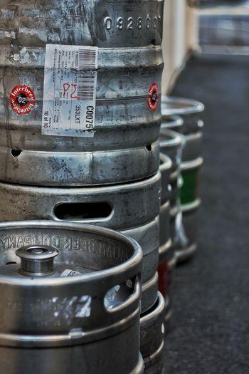 Beer kegs Close-up Barrel No People Day Outdoors Beer Kegs