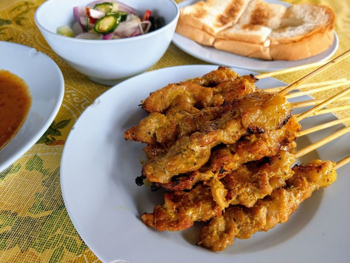 Grilled Meat Muslim Culture Halal Halalfood Healthy Eating Asian Culture Plate Close-up Sweet Food Food And Drink Unhealthy Lifestyle Comfort Food