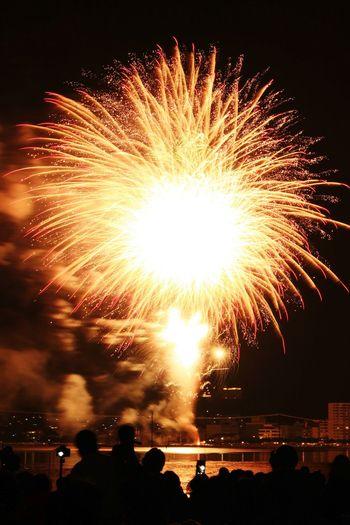08152016 諏訪湖湖祭上花火大会 諏訪湖花火大会 花火 Fireworks Japan 諏訪湖 Fire Bomb